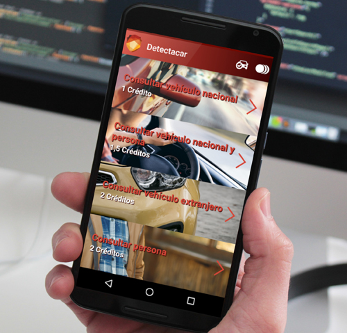 DetectaCar - APP Android de consulta de matriculas para detectives