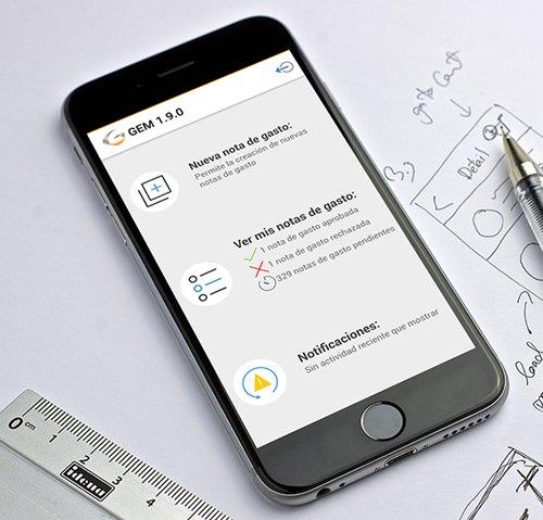 APP Android e iOS para el control de gastos en una empresa privada