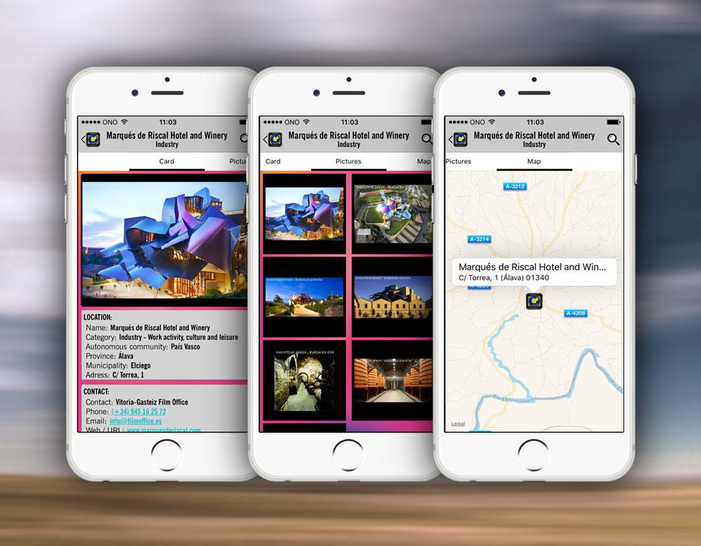 Aplicación iOS Shootin in Spain por 3Androides