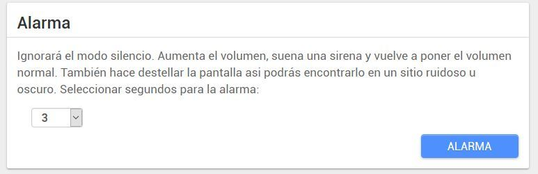 android lost alarma
