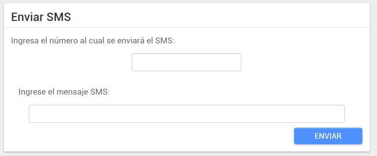 android lost enviar sms